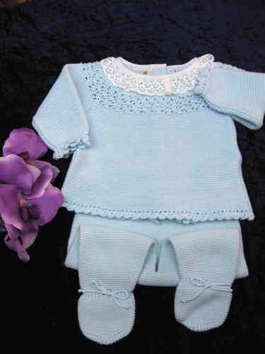 Baby Outfit, 2 piece, light blue