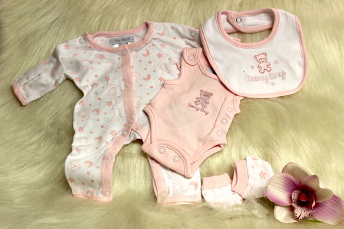 Premature Baby 4 teilig. Set