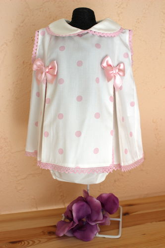 Dress with short trousers 2 pcs, size 0M