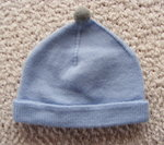 Hat with bobble