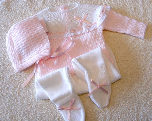 Baby Outfit, 3 pieces, size 0 - 1 M / 45 - 50 cm