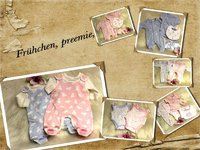 Cloth for preemie, up to 3lbs