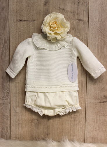 Baby Outfit, 2 pieces, size 1 - 2 M / 51 - 56 cm
